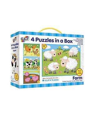 4 puzles granja