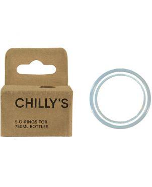 5 aros de silicona Chilly's - 260ml / 500ml