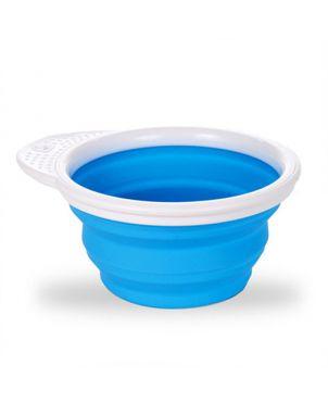 Cuenco plegable Go Bowl™ silicona con tapa - Azul