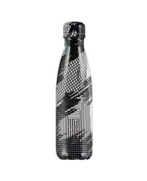 Botella termo Chilly's - Abstract 4 negro 750ml