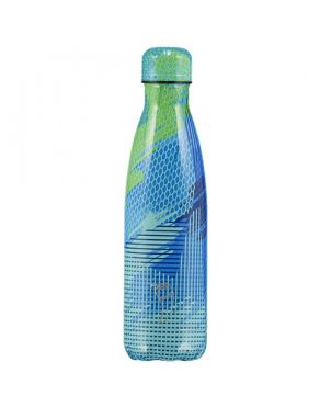 Botella termo Chilly's - Abstract 5 azul 750ml