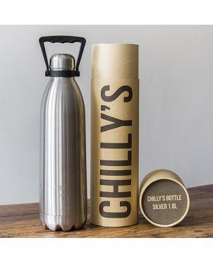 Botella termo Chilly's - Acero 1.8 l