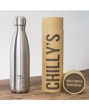 Botella termo Chilly's - Acero 260ml