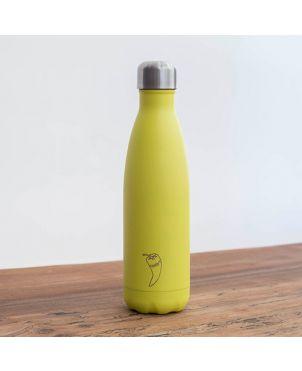 Botella termo Chilly's - Neon amarillo 500ml