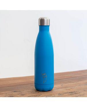 Botella termo Chilly's - Neon azul 500ml