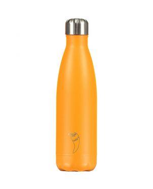 Botella termo Chilly's - Neon naranja 500ml