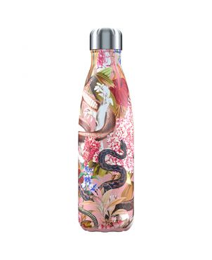 Botella termo Chilly's - Tropical serpiente 500ml