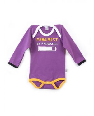 Body Rocky Horror Baby - Feminist 3 a 6 meses