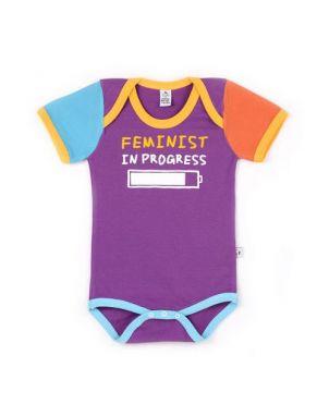 Body Rocky Horror Baby verano - Feminist 6 a 12 meses
