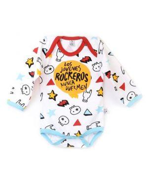 Body Rocky Horror Baby - Jóvenes rockeros dedos 0 a 3 meses
