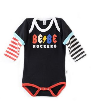 Body Rocky Horror Baby - Bebé rockero 6 a 12 meses