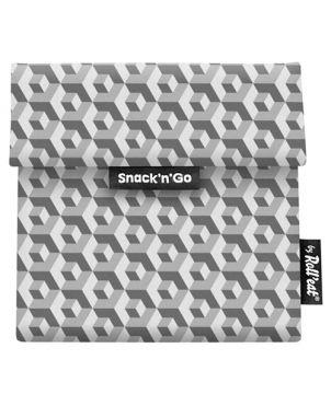 Bolsa Snack´n´go - Tiles negro