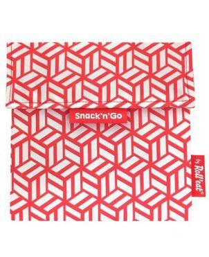 Bolsa Snack´n´go - Tiles rojo