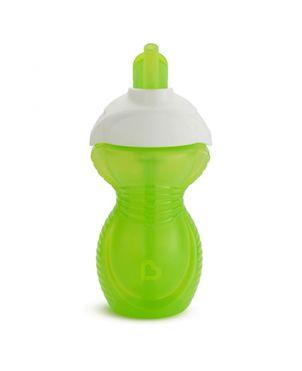 Botella antigoteo pajita Click Lock - Verde