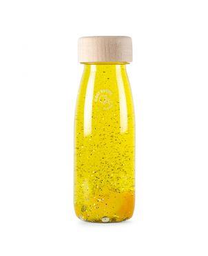 Botella sensorial Petit Boum - Flotante amarillo