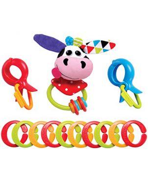 Cadena sonajero – Yookidoo - Vaca