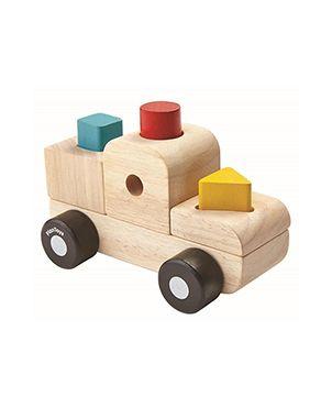 Camión encajables Plan Toys