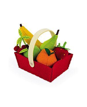 Cesta de frutas fieltro JANOD