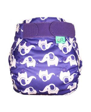 Cobertor pañal PeeNut Tots Bots - Elefante talla 2