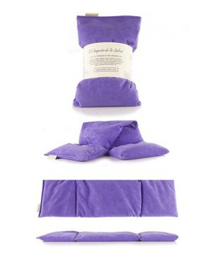 Saquito térmico semillas - Violeta grande