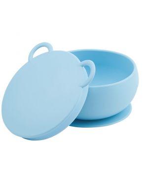 Cuenco silicona con ventosa - Minikoioi  - Azul