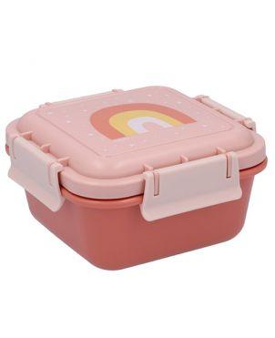 Fiambrera almuerzo - Arcoíris rosa