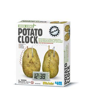 Green science - Reloj patata