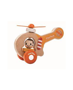 Helicóptero Plan Toys