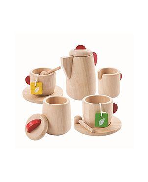 Juego de té natural - Plan Toys