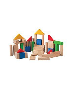 50 bloques de madera Plan Toys