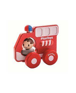 Camión bomberos Plan Toys