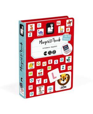 Libro magnético Janod - Alfabeto español