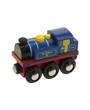 Locomotora madera BlueBell