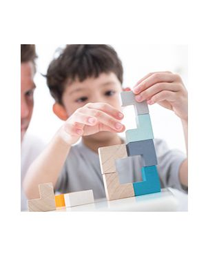 Mini juego – cubo puzle Plan Toys