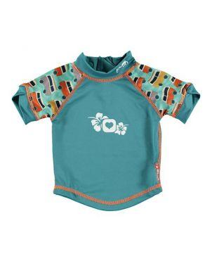 Camiseta protección solar UV Pop In - Campervan green L