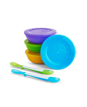 Pack cuencos con tapas y cucharas