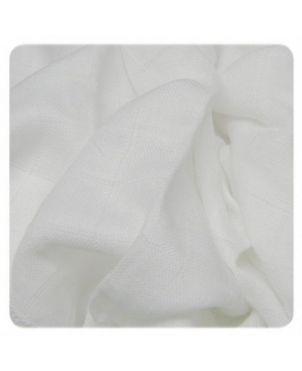 Pack 9 muselinas bambú 30x30 cm Xkko - blanco