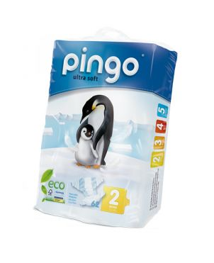 Pañales desechables ecológicos Pingo - talla 2
