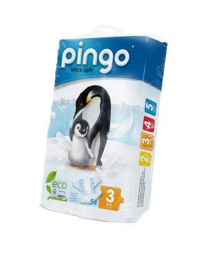 Pañales desechables ecológicos Pingo - talla 3