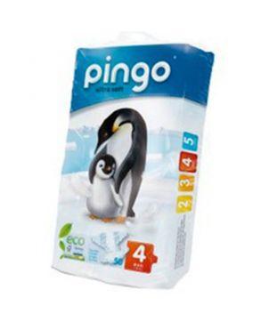 Pañales desechables ecológicos Pingo - talla 4