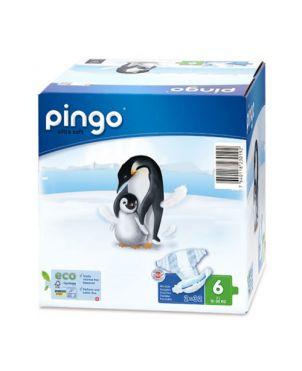 Pañales desechables ecológicos Pingo - talla 6
