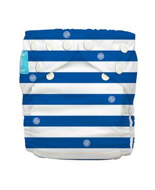 Pañal individual rellenable Charlie Banana - Blue stripes