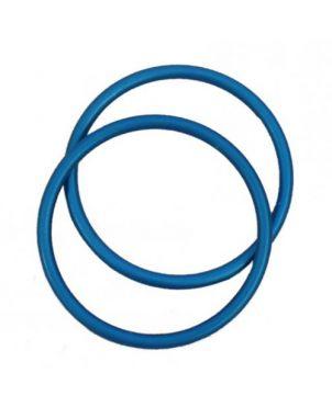 Anillas de aluminio Sling Ring - 7,62 - azul