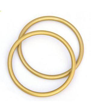 Anillas de aluminio Sling Ring - 7,62 - dorado