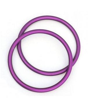 Anillas de aluminio Sling Ring - 7,62 - morado