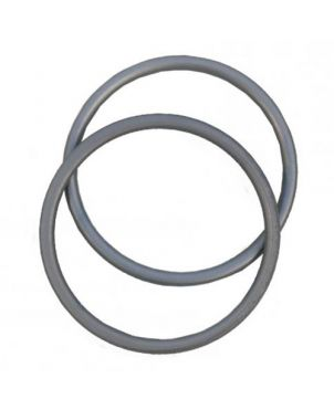 Anillas de aluminio Sling Ring - 7,62 - pizarra