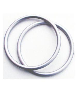 Anillas de aluminio Sling Ring - 7,62 - plata