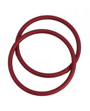 Anillas de aluminio Sling Ring - 7,62 - rojo