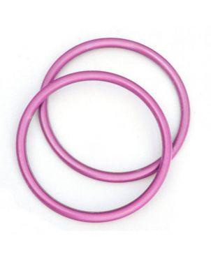 Anillas de aluminio Sling Ring - 7,62 - rosa