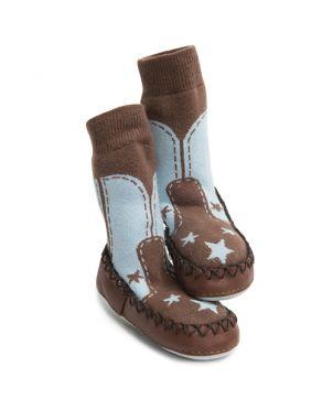 Calcetín – zapato Mocc Ons - Cowboy lifestyle 12 a 18 meses